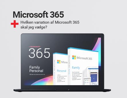 Microsoft 365 - Hvad skal jeg vælge?