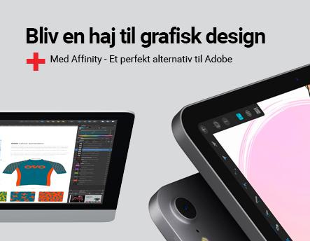 Bliv en haj til grafisk design