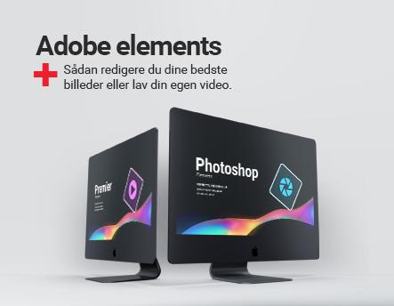 Redigere dine billeder og videoer med Adobe elements