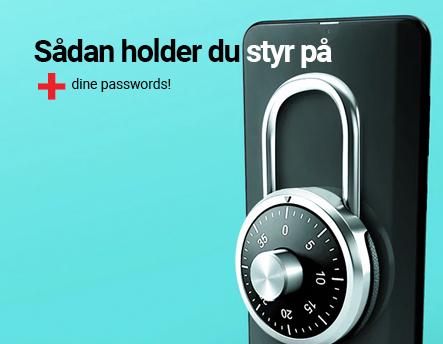 Sådan holder du styr på dine passwords