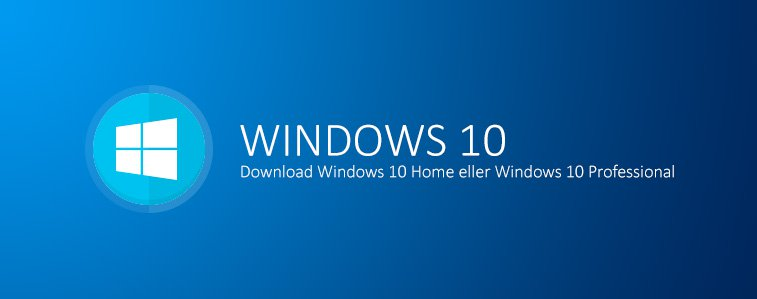 Download Windows 10 Home eller Windows 10 Professional
