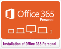 Installation og aktivering af Office 365 Personal