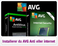 Sådan installerer du AVG Antivirus eller Internet Security