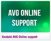 Kontakt AVG online support