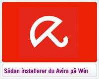 Sådan installerer du Avira på Windows