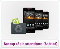 Læs en dansk guide, der beskriver hvordan du på kort tid kan tage backup af alt indhold på din Android smartphone.