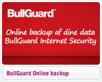 Online backup af dine data med BullGuard Internet Security