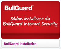 Installation af BullGuard Internet Security
