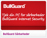 Tjek din PC for sårbarheder med BullGuard Internet Security