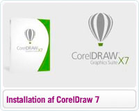 Sådan installerer du CorelDraw Graphics Suite 7