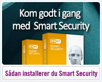 Sådan installerer du Smart Security fra ESET