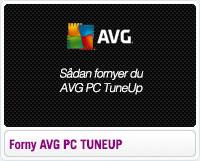 Sådan fornyer du AVG PC TuneUp