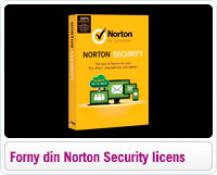Forny dit Norton Security