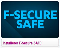 Sådan installerer du F-Secure SAFE