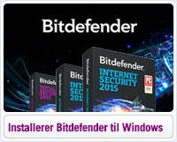 Sådan downloader og installerer du Bitdefender til Windows