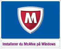 Sådan installerer du McAfee på Windows