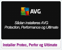 Sådan Installeres AVG Protection, Performance og Ultimate