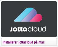 Sådan installerer du Jottacloud på mac