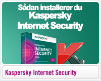 Sådan installerer du Kaspersky Internet Security