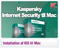 Sådan installerer du Kaspersky Internet Security til Mac