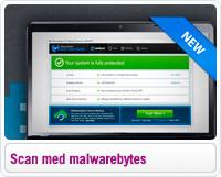 Scan din computer for malware med Malwarebytes