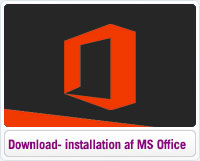 Guide til download og installation af Microsoft Office 2013