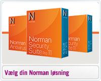 Sammenligning af Norman Security produkter
