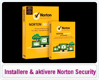 Sådan installere og aktivere du Norton Security