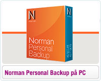 Installere og aktiverer Norman Personal Backup på PC