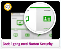 Kom godt i gang med Norton Security