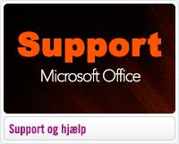 Support og hjælp til Mic