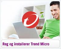 Sådan registrerer og installerer du Trend Micro på Windows