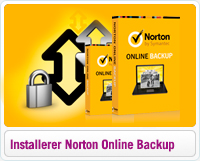Sådan installerer du Norton Online Backup i Windows