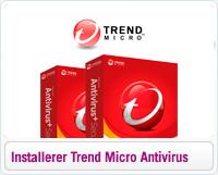 Sådan installerer du Trend Micro Antivirus