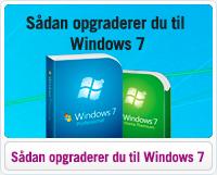 Sådan opgraderer du Windows 7
