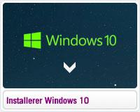 Sådan installerer du Windows 10
