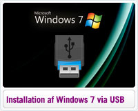 Installation af Windows 7