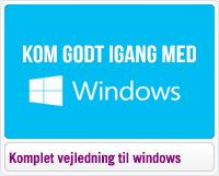 Kom godt igang med windows