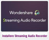 Sådan installererer du Wondershare Streaming Audio Recorder