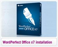 Sådan installerer du WordPerfect Office