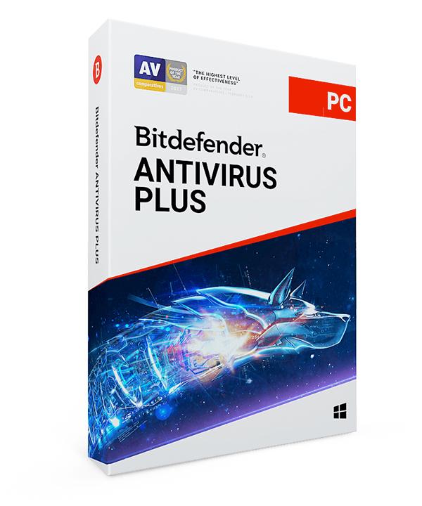 bitdefender antivirus plus 2019 - 5 pc / 2 år fra bitdefender
