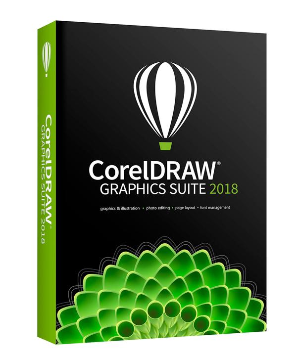 corel Coreldraw graphics suite 2018 på e-gear.dk