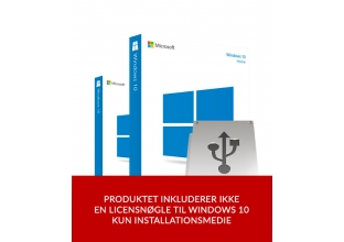 Windows 10 Home/Professional USB installationsmedie