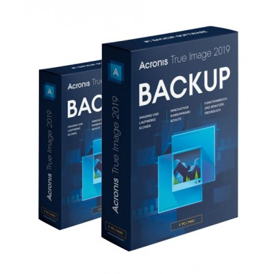 Acronis True Image Backup 2019 - | Pc/Mac/Android/Ios | - 3 Enheder / 1 År