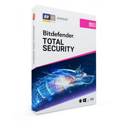 norton symantec Bitdefender total security multi-device 2018 - 1 pc / 1 jahr på e-gear.dk