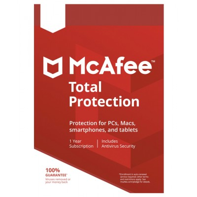 mcafee Mcafee total protection 2019 på e-gear.dk
