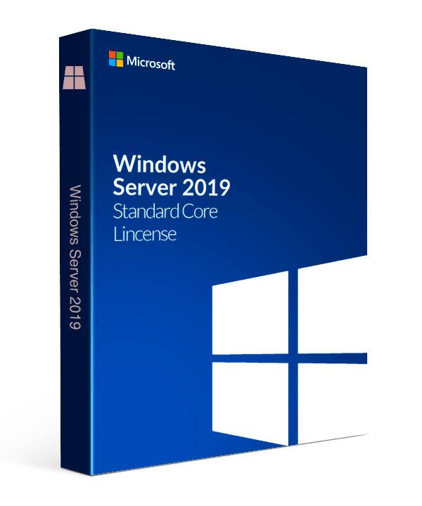 Microsoft Windows Server 2019 Standard - 16 cores 64-bit