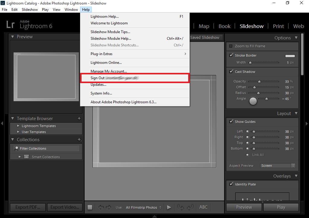 Sådan flytter du Adobe Photoshop Lightroom 6 til en ny PC / Mac
