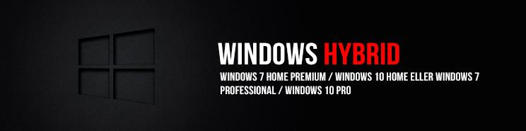 Vejledning til installation af Windows 10 Hybrid