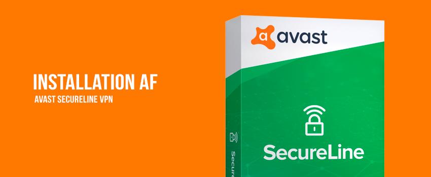 Installation af Avast SecureLine VPN